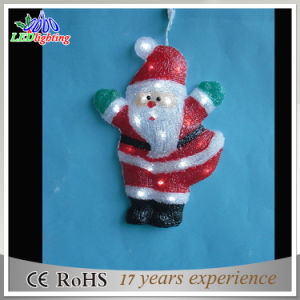 Whosesale Acrylic LED Santa Claus Outdoor Christmas Hanging Decorations Light pictures & photos