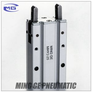 SMC Type 180 Angular Style Pneumatic Air Finger Cylinder (MHY2-25D) pictures & photos