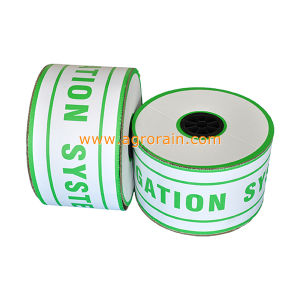 High Quality Raw Polyethylene Material Thin-Wall Drip Line with Flat Emitter pictures & photos