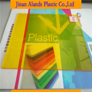 2017 Hot Sell Yellow Plastic Sheet Cast Acrylic Sheet Price pictures & photos