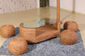 Home Living Room Coffee Table Rattan Furniture