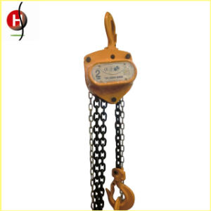 High Quality Manual Construction Lifting Chain Hoist pictures & photos