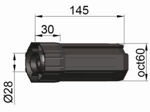 Roller Shutter, Plastic Cap Oct60, Roller Shutter Accessory pictures & photos