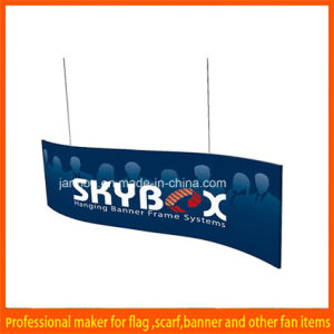 Aluminum Frame Durable Indoor Hanging Banner for Display pictures & photos