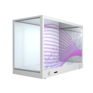 "24"" Transparent Display Case for Advertising pictures & photos"