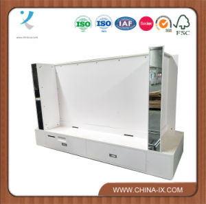 Cabinet for Television Set with Drawer and Mirror pictures & photos