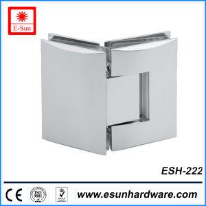 Hot Designs Brass Glass Door Shower Hinge (ESH-222) pictures & photos
