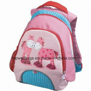 2017 New China Customized Sublimation School Kids Student Bag Backpack
