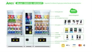 Credit Card Vending Machine with LCD Screen pictures & photos