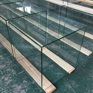 Square Clear Tempered Glass Box