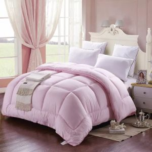 Wholesale White Microfiber Down Quilt Duvet Soft (JRD527)