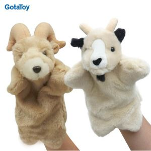Custom Plush Toy Lamb Hand Puppet Stuffed Soft Toy pictures & photos