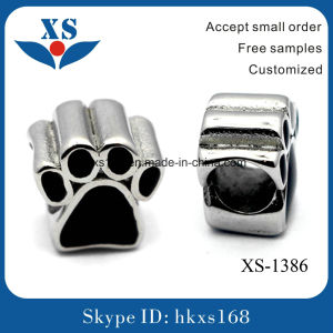 New Arrival DIY Stainless Steel Logo Bead for Bralacet
