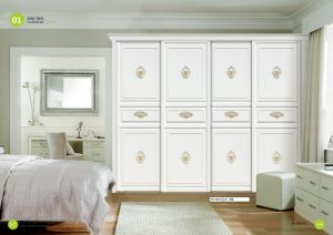 PVC Casement Door with Double Glass (yg-012) pictures & photos