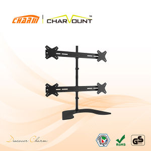 "Table Mount TV Bracket for 10""-25"", OEM LCD TV Bracket (CT-LCD-DS1205) pictures & photos"