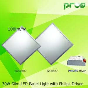 on Sale 600*600mm 30W LED Panel Light Luminaire 100lm/W pictures & photos
