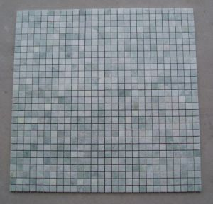 White Onyx Mosaic Marble Tiles & Slab for Bathroom pictures & photos