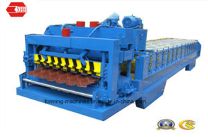Steel Glazed Tile Roll Forming Machine (Yx38-210-840) pictures & photos