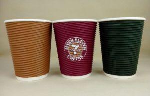 12oz Ripple Hot Coffee Cups