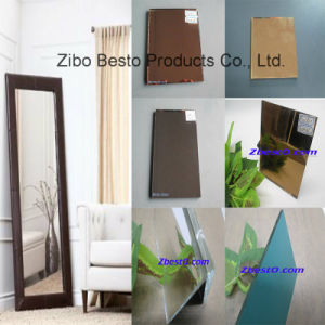 Colored (pink, red, brown, blue, gold, white, grey) Floor Mirror pictures & photos