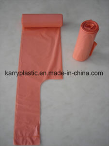 HDPE Bin Liner Trash Bags with Tie-Handle pictures & photos