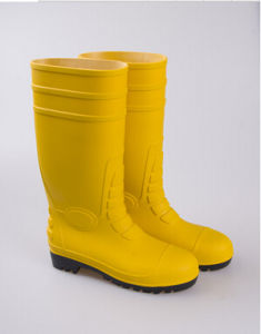 PVC Safety Boots with Steel Toe Waterproof Ce Certification pictures & photos