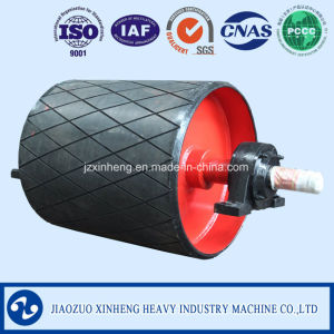Rubber Surface Driving Pulley / Transmission Drum, Conveyor Roller pictures & photos