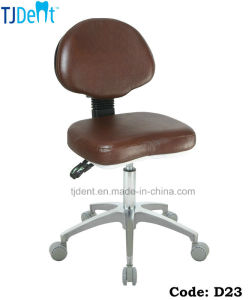 Secure & Comfortable Dental Chair Dentist Stool (D23) pictures & photos