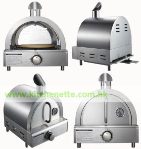 Stainless Steel Gas Pizza Oven for Outdoor Kitchen (WH-D861)