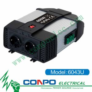 6043u 600W Pure Sine Wave Inverter+USB pictures & photos