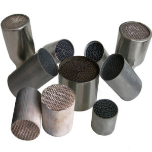Rare Earth Catalyst -Coated Honeycomb Metal for Auto/Motorcycle pictures & photos