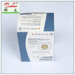 Euro PVC with Pinhole Wound Plaster/Wound Bandage/Bandaid pictures & photos