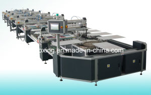 Oval Automatic Textile Screen Printing Machine, Automatic T-Shirt Screen Printer pictures & photos