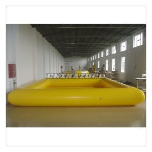 Beautiful Air-Sealed Yellow Color Inflatable Water Pool