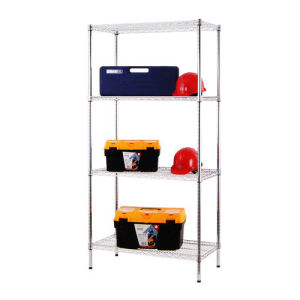 NSF Chrome Metal Metro/Garage Wire Shelving Rack 500lbs Per Shelf pictures & photos