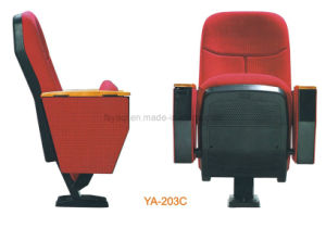 High Quality and Inexpensive Conference Hall Chair Plastic Chai (YA-203C) pictures & photos