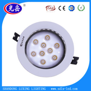 9W High Quality Aluminum Housing Recessed LED Downlight Surface Integrated Ceiling Light pictures & photos