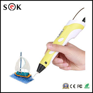 2016 Digital Arts ABS PLA 1.75mm 3D Fialments 3D Dwaring Pen with LCD Screen pictures & photos