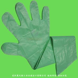 Disposable Long-Cuff Veterinary Gloves pictures & photos