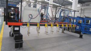 CNC5-4000 Gantry Type Multi Head Vertical Strip Flame Cutting Machine