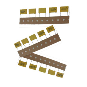 Yellow Color X2 Box Film Capacitor Safety Capacitor pictures & photos