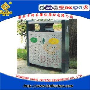 Street Street Waste Bin /Trash Can /Litter Bin /Garbage Bin (BH16103)