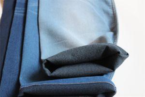 Indigo Cotton Polyester Lycra Denim pictures & photos