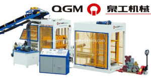 Cement Hollow Brick Making Machine (QT4-15) pictures & photos