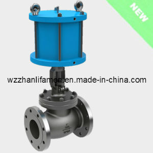 Pneumatic Operated Globe Valve J641h (API, DIN, GB) pictures & photos