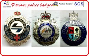 High Quality Police Badges Military Badges pictures & photos