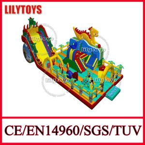 Exciting! 2015 New Design! Giant Dragon Inflatable Amusement Park Inflatable Playground Equipment for Party (Lilytoys-New-013) pictures & photos