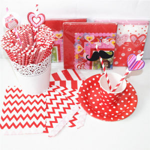 Red Color Paper Party Favors with Different Designs pictures & photos