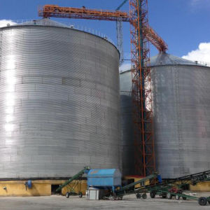 Galvanized Steel Storage Grain Silo pictures & photos