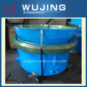 Wujing High Manganese Steel Casting Cone Crusher Bowls